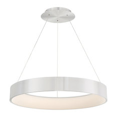 WAC Lighting Corso 32in LED Pendant in Brushed Aluminum