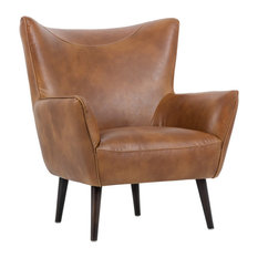 Luther Occasional Chair, Tobacco Tan