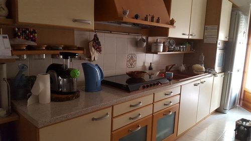 Disposizione mobili cucina e sala