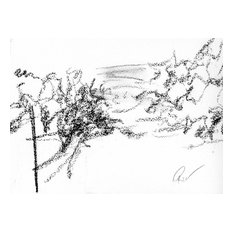 "Bring home Napa Valley with ""Alluvial Essence"" by Ann Rea, charcoal on paper"