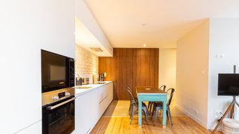 Création d'un appartement en rez-de-chaussée de maison