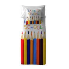 Back To School Duvet Cover, Full