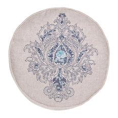 Round Blue Decorative Pillows : Blue Round Decorative Pillows Houzz