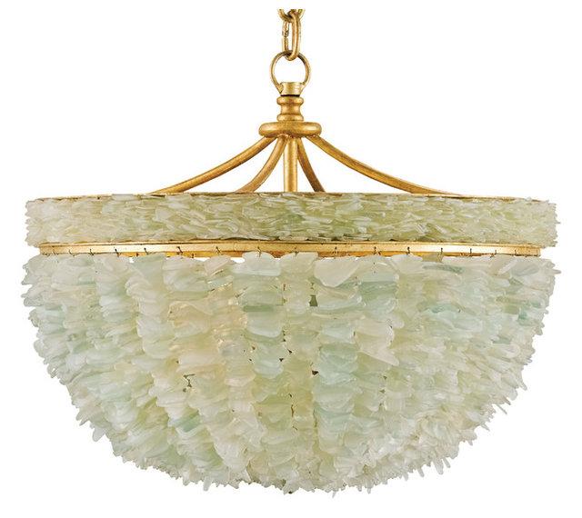Mira coastal beach marine sea glass gold 3 light bowl chandelier mira coastal beach marine sea glass gold 3 light bowl chandelier aloadofball Images