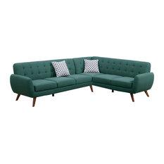 Nice Infini   Modern Retro Sectional Sofa, Laguna   Sectional Sofas