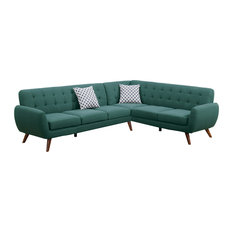 Midcentury Modern Sofas And Sectionals Houzz - Modern sofas sectionals