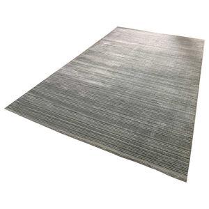 Linie Cover Rug, Grey, 140x200 cm