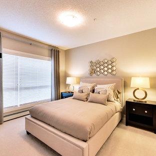 Elegant home design photo in Edmonton