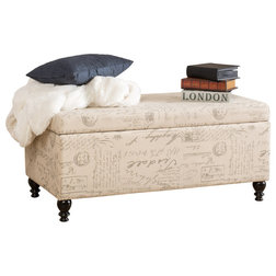 Traditional Accent And Storage Benches by GDFStudio