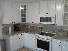 Would Have Been One Of Those Is This A Crummy Tile Job Posts I Did Go With An Almost 8 Granite Backsplash