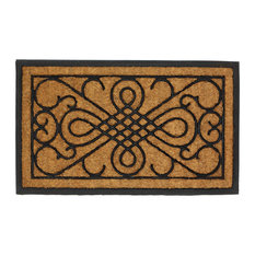 Summerfield Terrace   Scrollwork Design Entry Mat   Doormats