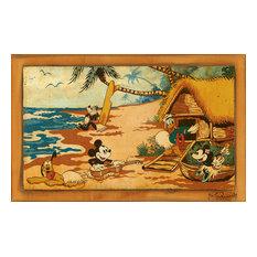 Disney Fine Art Fab 5 Go Hawaiian by Trevor Carlton