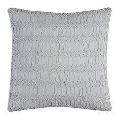 Rizzy Home Cotton Fabric Pillow, Aqua