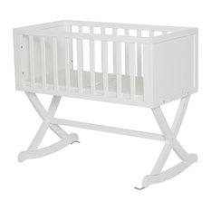 Dream On Me Haven Baby Cradle, White