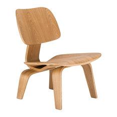Isabella Lounge Chair, Natural