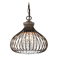 50 most popular copper chandeliers for 2018 houzz the first lighting belford 1 light foyer pendant chandeliers aloadofball Gallery
