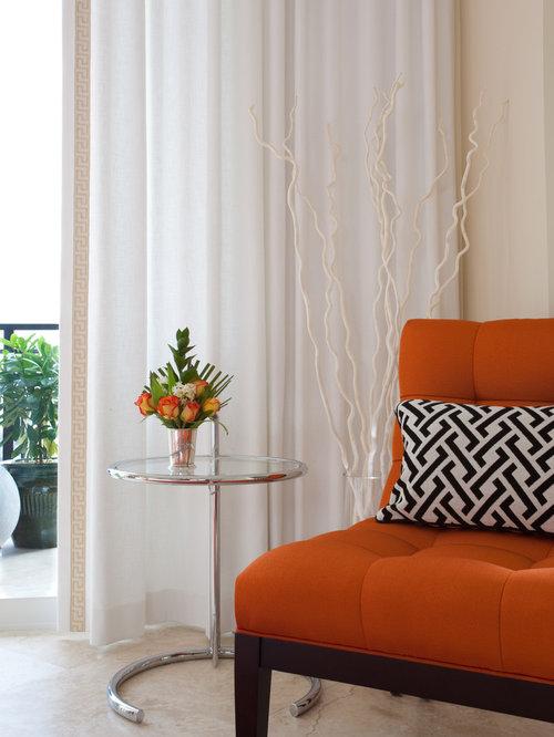 Orange Chairs | Houzz