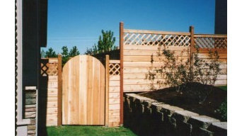 Cedar Wood Fence Projects