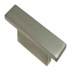 "Richelieu Hardware BP5139632195 2.75"" Contemporary Cabinet Knob - Brushed Nickel"
