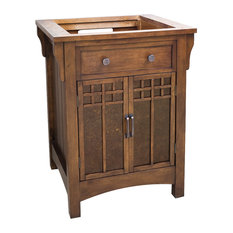 Wooden Vanity, Without Top
