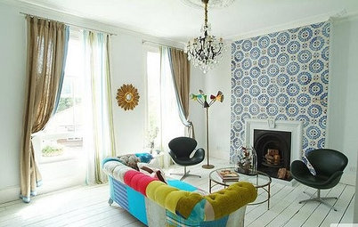 How to Make an Eclectic Living Room Work