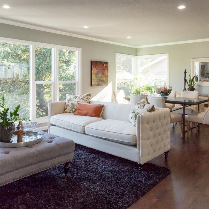 Home design - contemporary home design idea in San Francisco