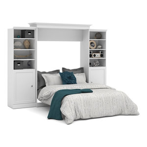Bestar Pur Wall Bed Kit White Contemporary Murphy