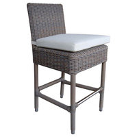 Patio Counter Stool in Gray