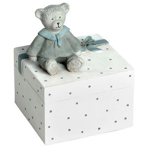 Little Boy Children's Teddy Bear Money Box