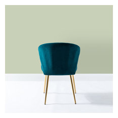 Milia Dining Chair Set Of 2 Teal