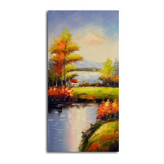 """Peaceful Solitude"" Original Oil Painting On Canvas"