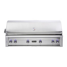 """Viking Range Corporation - Viking 54"""" Built-In Natural Gas Grill, Stainless Steel - Outdoor Grills"""