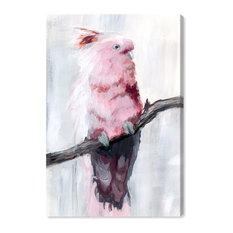 """Blush Cockatoo"" Canvas Art Print, 40x60 cm"
