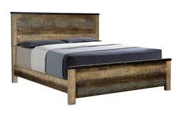 Coaster Furniture Sembene Eastern King Platform Bed in Antique Multicolor
