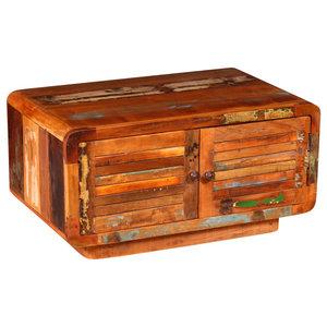 VidaXL Solid Reclaimed Wood Coffee Table, 80x50x40 cm