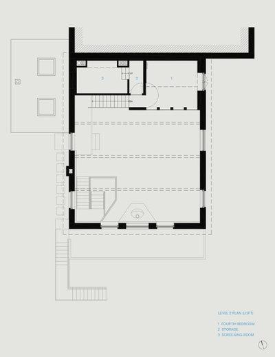 План этажа by McNamara Carpentry Inc.