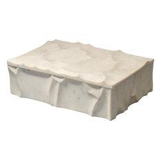 Everest Marble Box - White Marble
