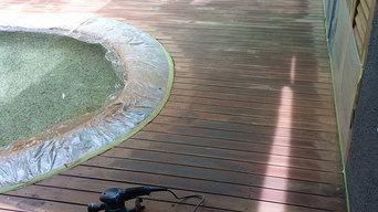 Deck Restoration - Palm Cove