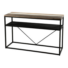 Mateo Console Table With Shelf