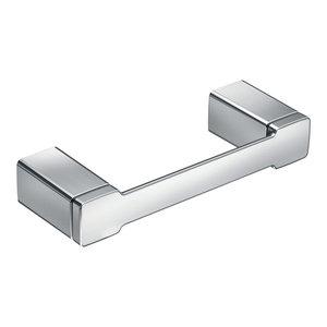 MOEN Retreat Pivoting Double Post Toilet Paper Holder in Chrome