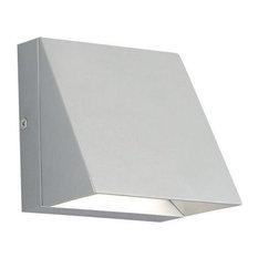 Tech Lighting Pitch Single LED 80CRI 3000K 120V Wall Sconce, Silver