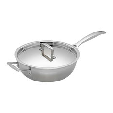 Le Creuset 3-Ply Stainless Steel Non-Stick Chef's Pan, 24 cm