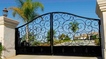 Custom made Driveway Gates From our Forged Collection