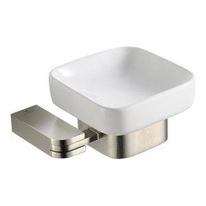 Fresca FAC1308BN Solido Soap Dish, Brushed Nickel