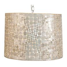 cobblestone coastal beach capiz shell 145 inch round pendant pendant lighting capiz lighting fixtures