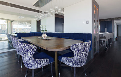 Room of the Week: A Plush Dining Area in Bondi Beach