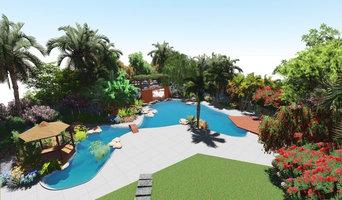 Jardin méditerranéen au maroc de 4500m²