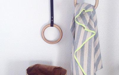 Ugens DIY: Sådan bruger du et par gamle gymnastikringe kreativt