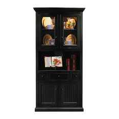 Corner Dining Hutch/Buffet, Cupola Yellow-Birch
