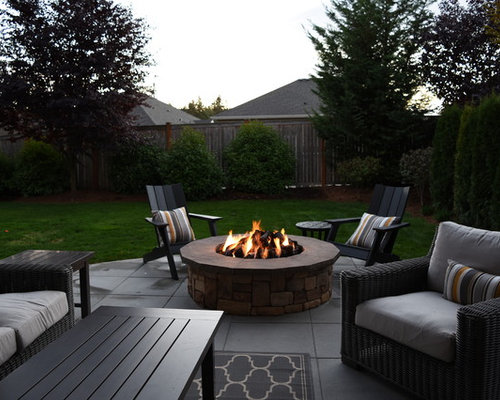 Covered Patio Amp Fire Pit